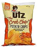 Utz Potato Chips, The Crab Chip, 9.5 oz Bag