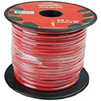 Nippon Audiopipe 14 Gauge 500Ft Primary Wire Red