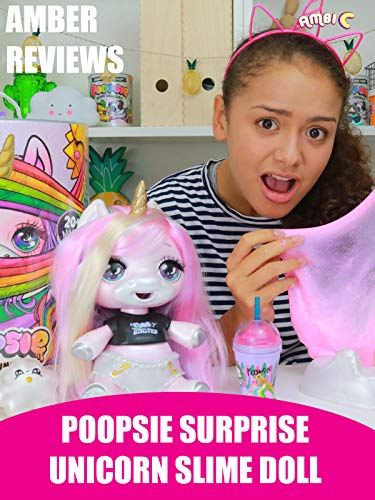 Amber Reviews Poopsie Surprise Unicorn Slime Doll