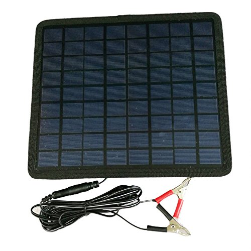Beenaspiring Waterproof Solar Panel 12V Battery Charger System Maintainer For Marine Boat & RV &Car by Beenaspiring