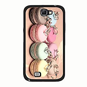 Durable Nice Macaron Phone Case Cover For Samsung Galaxy Note 2 n7100 Macaron Stylish