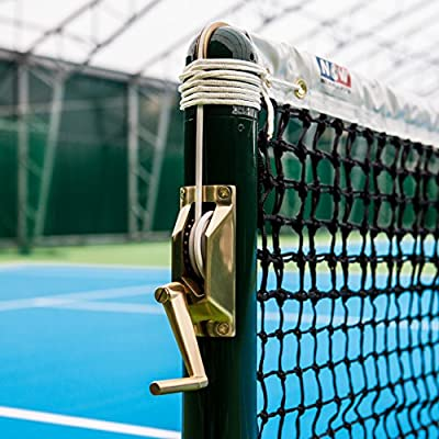 Vermont Brass Tennis Post Winder Handle Suitable For Square Round Tennis Posts Round Amazon Co Uk Sports Outdoors