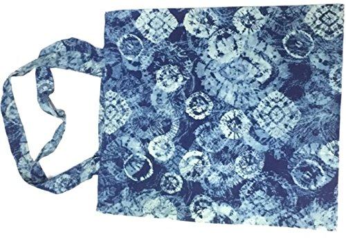 Cotton Tote Bag Lightweight Navy Blue ()