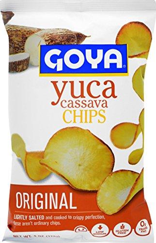 Goya Yuca Chips, 4 oz