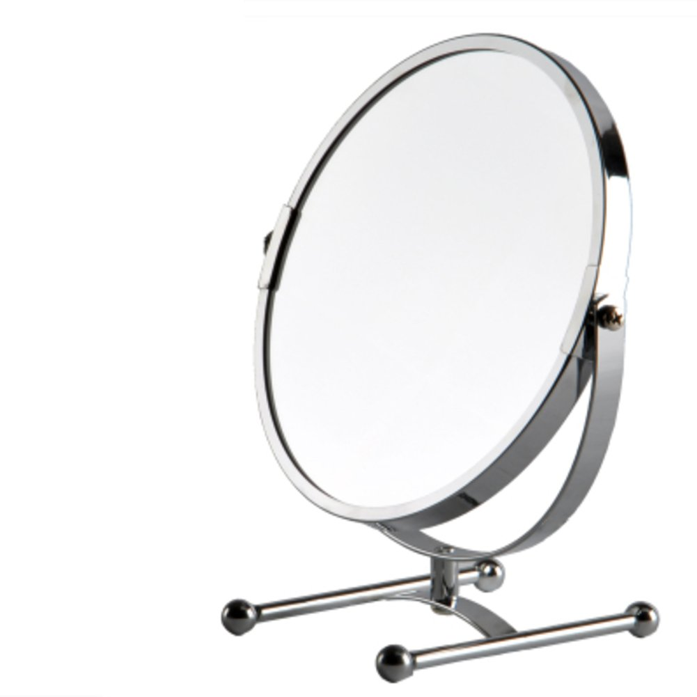 low-cost mirror the desktop/HFoot mirror mirror/Two-sided mirror/ Princess mirror/ magnifying glass/Extra large-C