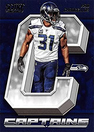 904bf384 2018 Score Captains #26 Kam Chancellor Seattle Seahawks Football Card