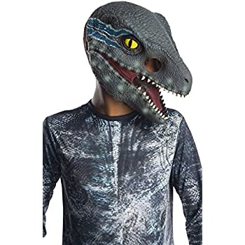 Rubies Jurassic World: Fallen Kingdom Blue Velociraptor Mask