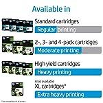 HP 952 Ink Cartridges | 3 Color Cartridges | Plus $5 Instant Ink Prepaid Code 6