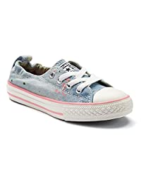 Converse Girls Chuck Taylor Shoreline Sneaker (Little Kid/Big Kid)
