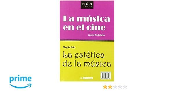 La música en el cine y La estética de la música: 19 DUO: Amazon.es ...