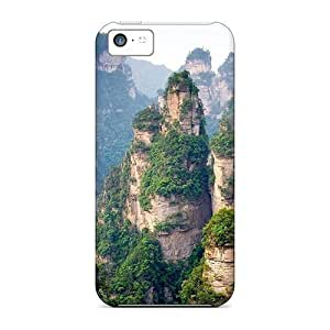 With Mountain Grows With Iphone 6 plus (5.5) Plastic iphone For Iphone Cases covers protection miao's Customization case
