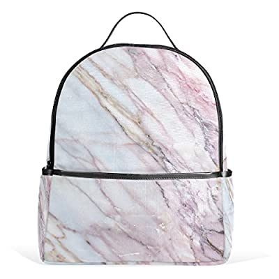 d941f02c3a durable modeling JSTEL Marble School Backpack 4th 5th 6th Grade for Boys  Teen Girls Kids