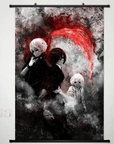 Home Decor Anime Tokyo Ghoul Wall Scroll Poster Fabric Paint