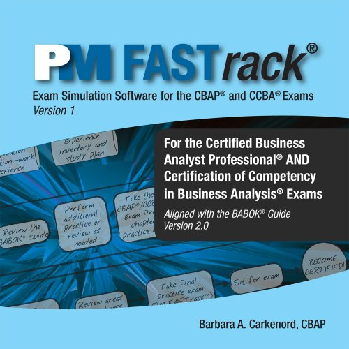FASTrack CBAP / CCBA Exam Simulation Software for Business Analysis Certification