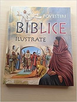 Romanian Language Illustrated Bible Stories Povestiri Biblice Ilustrate Beautiful Full Page Color Children S Bible Huge Book Roxana Truta 9786066462129 Amazon Com Books