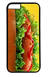 Delicious Hot Dog Nice PC Black Case for Masterpiece Limited Design iphone 6 by Cases & Mousepads by ruishername