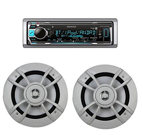 KMR-M318BT Marine Digital Media Receiver w/Bluetooth with Ke