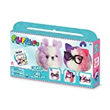 The Orb Factory Fluffables Sugar Cookie Double Arts & Crafts, Purple/White/Pink, 11.75
