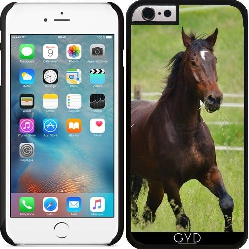 Coque pour Iphone 6 (4,7 '') - Faune Sauvage Cheval by WonderfulDreamPicture