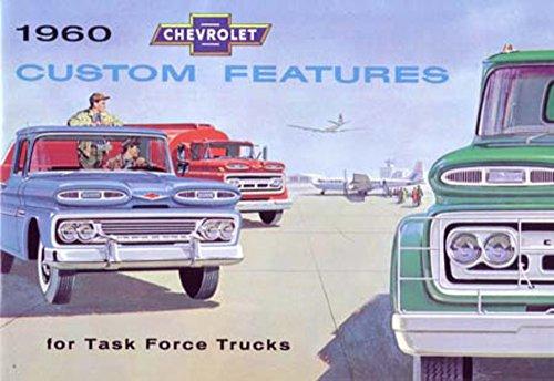 - 1960 Chevrolet Truck Accessories Sales Brochure Literature Book Piece Options