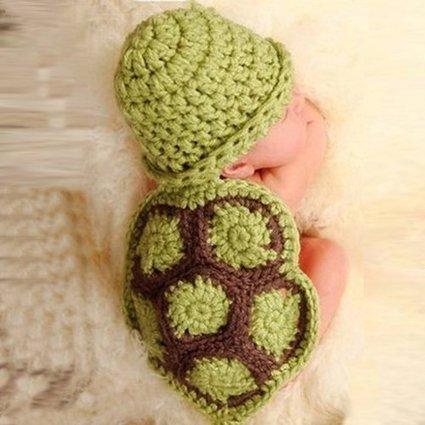 Amazoncom Mokingtopbaby Newborn Turtle Knit Crochet Beanie Hat