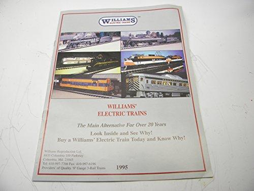 1995 Williams Electric Trains O Gauge Color Catalog ()