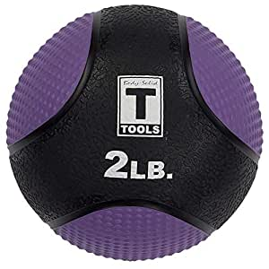 Body-Solid Tools Medicine Ball, Purple, 0.9 kg