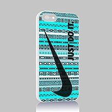 Just do It NIKE Geometric Aztec Iphone 4/4s 5 5c 6 6plus Case (Iphone 5 White)