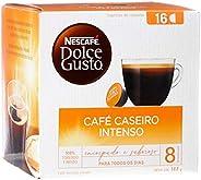 Nescafé, Dolce Gusto, Café Caseiro Intenso, 16 cápsulas