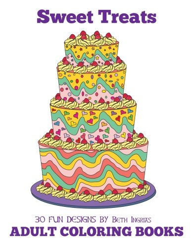 Download Adult Coloring Books: Sweet Treats (Volume 20) pdf