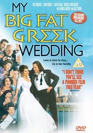 My Big Fat Greek Wedding Dvd 2002 Amazon Co Uk Nia Vardalos John Corbett Joel Zwick Nia Vardalos John Corbett Dvd Blu Ray