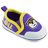 College Edition NCAA (Team) Premium Baby Soft Sole Comfortable Shoe featuring Easy on