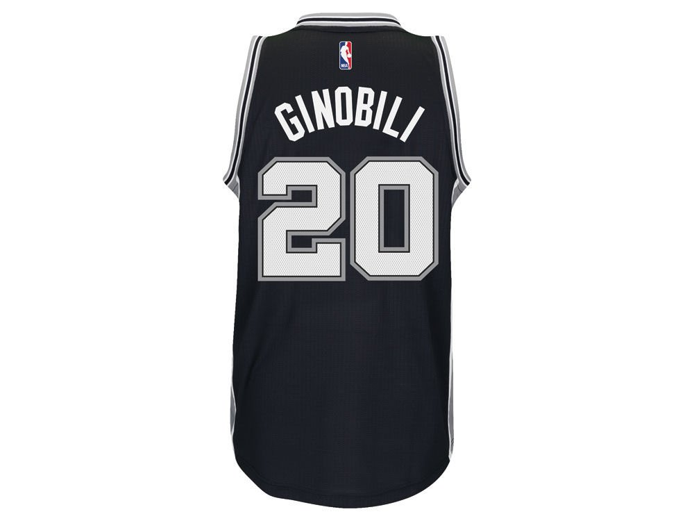 Amazon.com: adidas Mens Manu Ginobili San Antonio Spurs Swingman Jersey (0887784466839): Books