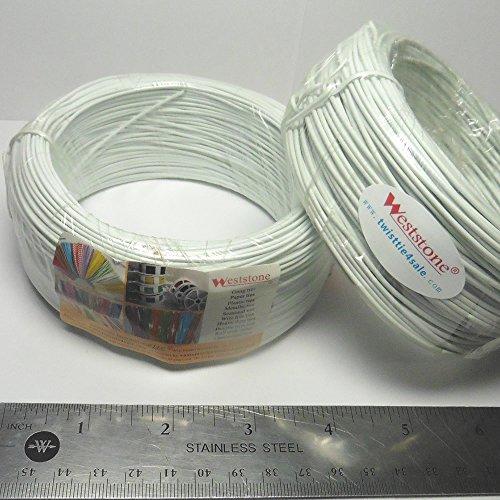 20m Yellow Flat Plastic Twist Tie Spool 65ft