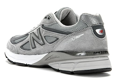Nieuwe Balans Heren 990v2 Gemaakt In Hardlopen Sneakers (us 10 D (m), Grijs)