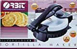 Orbit Silver Cloud 2 Tortilla Maker with Temperature Control, 8''/1000 Watt, Silver