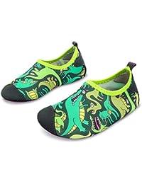 Kids Swim Water Shoes Barefoot Aqua Socks Shoes for Beach...