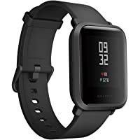 Yimitech Xiaomi Amazfit Bip Smart watch with GPS Heart Rate Monitor Water Resistant Fitness Tracker (Onyx Black)