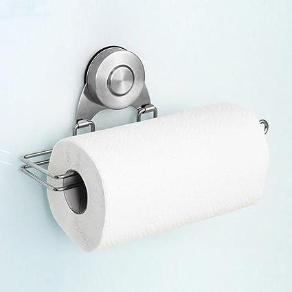 Inoxidable Tissue Holder vacío Chuck pañuelos de papel soporte para rollo de papel de cocina toalla
