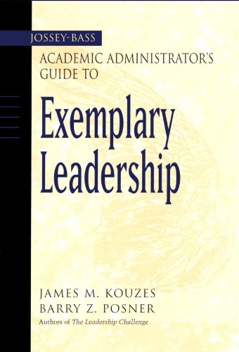 The Jossey-Bass Academic Administrator's Guide...