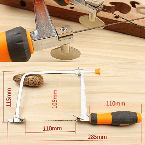 lzndeal segueta con mango de pl/ástico sierra de cortar PVC goma madera