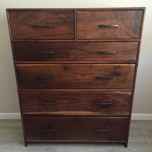 Walnut Dresser - Mid Century Modern Dresser