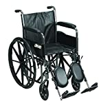 Drive Medical SSP218DFA-ELR Silver Sport 2 Wheelchair