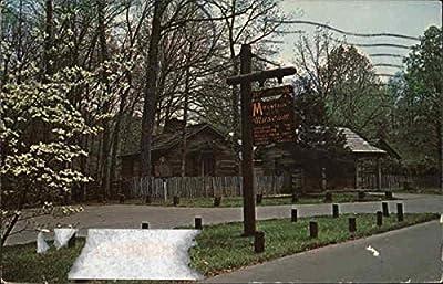 Dogwood in Bloom at Mountain Life Museum London, Kentucky Original Vintage Postcard