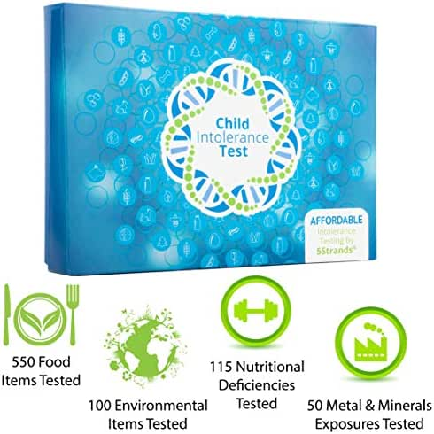 5Strands | Home Test Kit | Food & Environmental Intolerance | Nutritional Deficiencies | Metal & Mineral Exposure | Test 815 Total Items | Hair Analysis | Results in 1-2 Weeks | Child Deluxe Test
