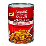Campbell's Everyday Gourmet Soup, Moroccan Spiced 8 Vegetables & Chickpea, 540mL