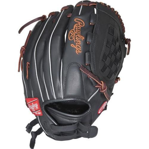Rawlings Gamer Series Softball Glove, Right Hand, Basket-Web, Custom Fit, 12 Inch ()