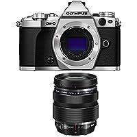 Olympus OM-D E-M5 Mark II Micro Four Thirds Silver Digital Camera 12-40mm Lens Bundle