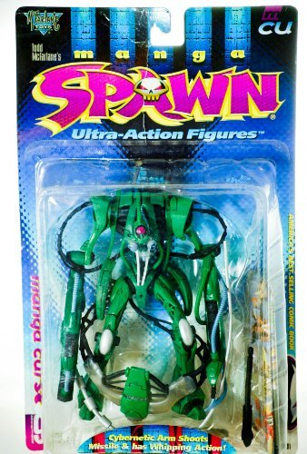 Spawn manga curse action figure manga series -