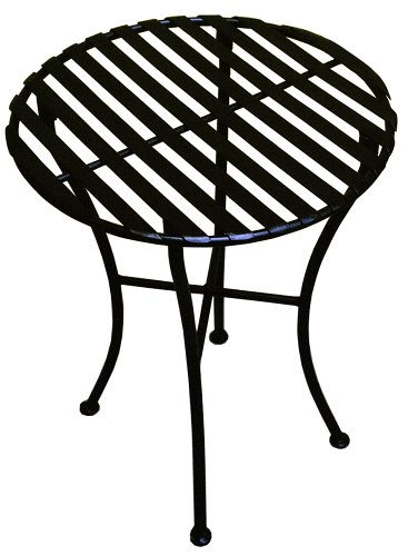 Cheap  PTC Home & Garden Park Round Side Table, Black